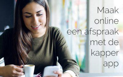 Maak een afspraak via Dè Kapper App